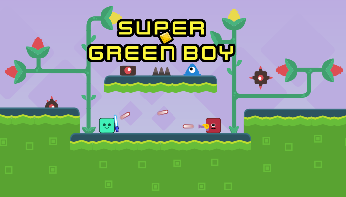 Super Green Boy